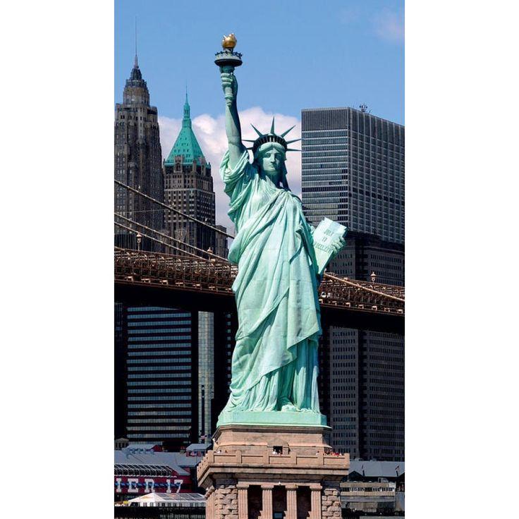 USA Szabadságszobor függöny #függöny #newyork #szabadságszobor #usa #lakberendezés