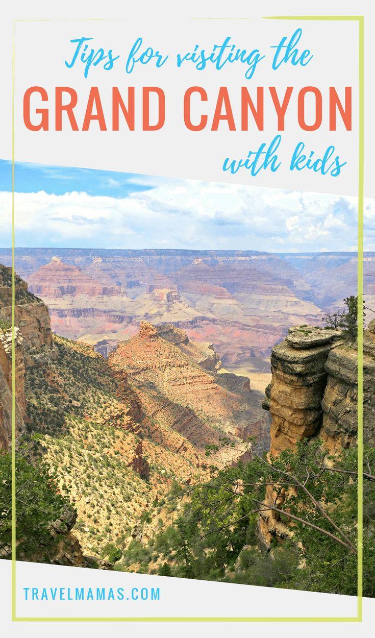 Consejos para visitar el Gran Cañón con niños #grandcanyon #arizona #travelwithki …
