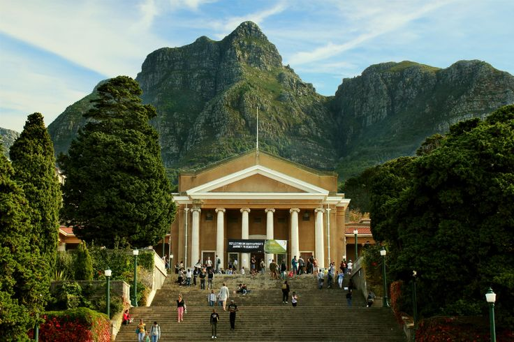 The University of Cape Town truly has one of the most beautiful campuses in the world.
