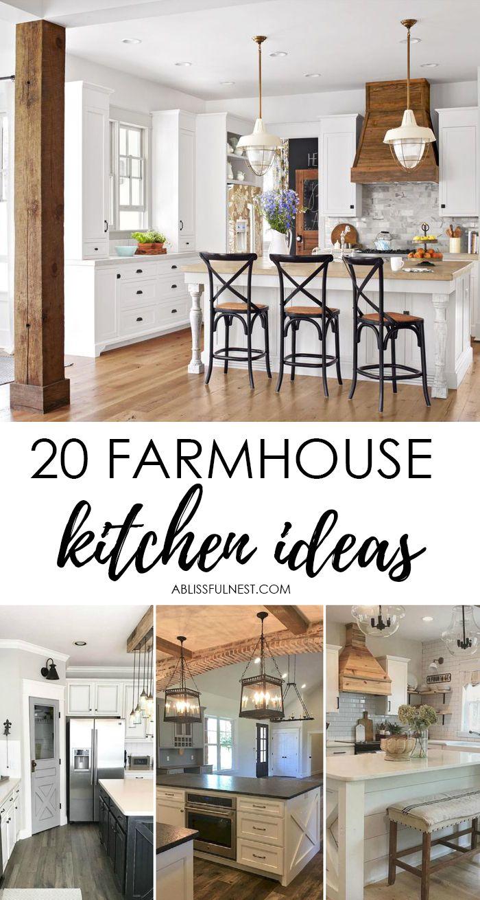 Best 25 Farmhouse Kitchen Cabinets Ideas On Pinterest
