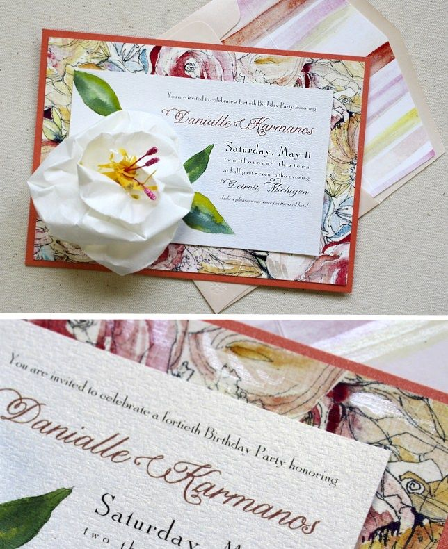 lotus flower wedding invitations%0A A Peek into the Studio  Spring Wedding Invitations