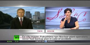 "Former mayor of Fukushima says ""current level of radiation in Fukushima is a violation of human rights."""