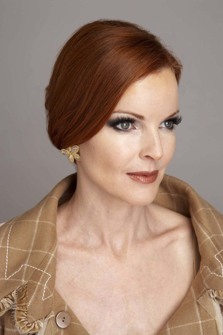 marcia cross. Zyla - Copper Autumn. Kibbe Dramatic Classic. Sun: 	4°31' Aries	 AS: 	10°32' Cancer Moon:	22°42' Scorpio.  Mars 10°27' Pisces.  Venus 18°30' Aries.  True North Node 16°49' Я Leo.