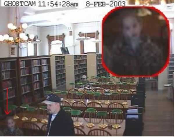 YES, These Photos Of Ghosts Are For Real or so they say... You decide. The Willard Library Ghost caught on camera