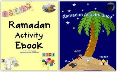 Ramadan Activity Book for Kids! Great for Holidays Around the World this week.