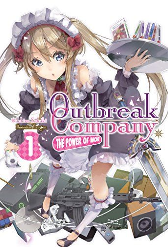 Outbreak Company: Volume 1  Well, Whaddya Know, Another Isekai Light Novel! The year is 20XX, and Shinichi Kanou is a pretty typical otaku: he loves anime, manga, games, and light novels, but his devotion to the two-dimensional hasn't always made him the most popular guy around.   via @AnotherUniverse.com  https://anotheruniverse.com/outbreak-company-volume-1