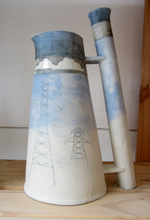 Cooling Towers by Beccy ridsdel, via Behance    http://www.beccyridsdel.co.uk
