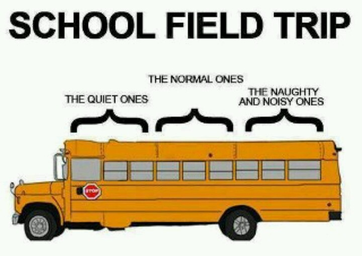 Where did you sit on the school bus?lol
