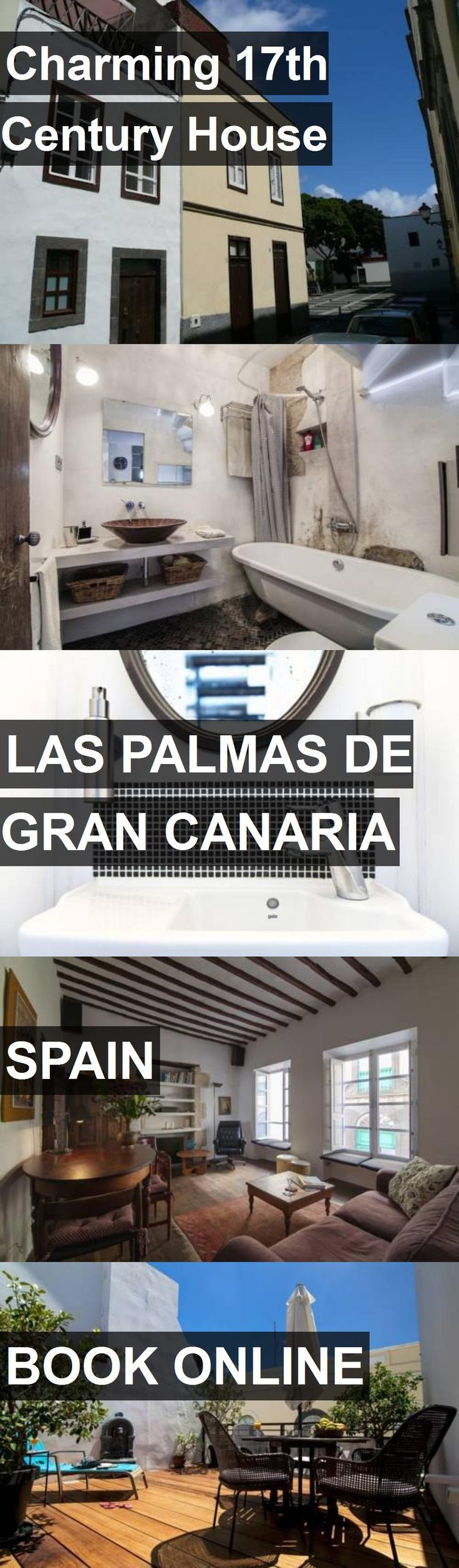 Hotel Charming 17th Century House in Las Palmas de Gran Canaria, Spain. For more information, photos, reviews and best prices please follow the link. #Spain #LasPalmasdeGranCanaria #travel #vacation #hotel