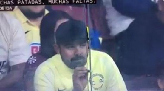 Detectan al idiota con el apuntador lasser en el partido America Tigres - http://www.esnoticiaveracruz.com/detectan-al-idiota-con-el-apuntador-lasser-en-el-partido-america-tigres/