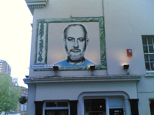 Tribute to John Peel in Brighton North Laine