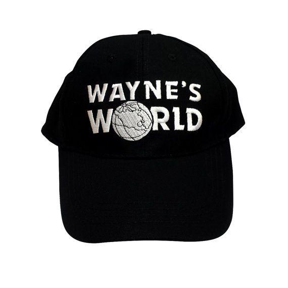 Wayne's World Baseball Cap Like The Hat Worn By Wayne