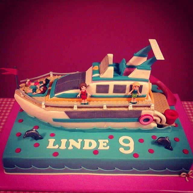 Lego Friends Cake Yacht - Taart van Manja!