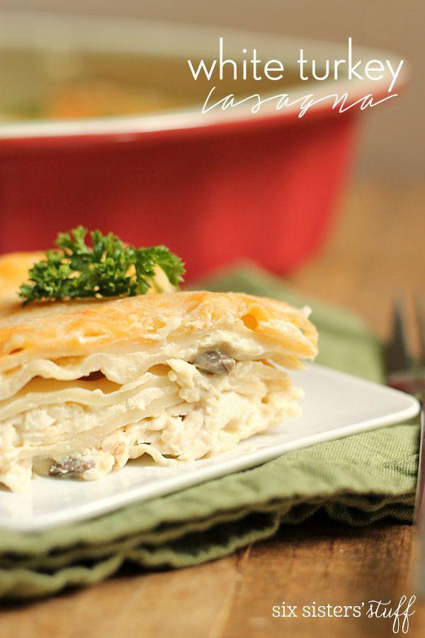 Turkey Lasagna on Pinterest | Healthy lasagna recipes, Ground turkey ...