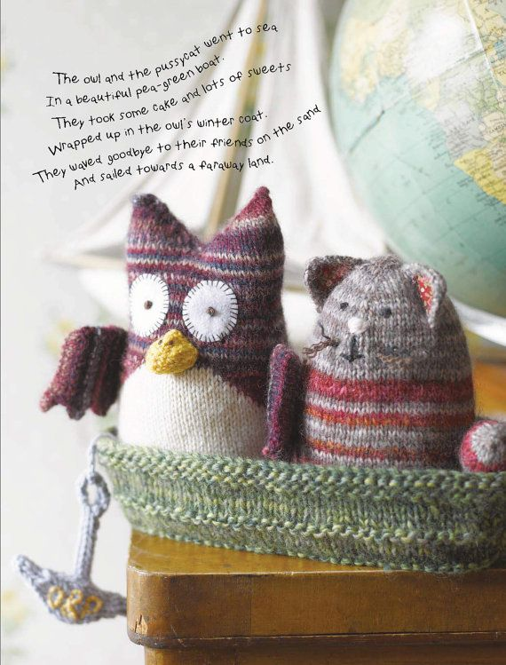 Knitting Pattern For Toy Boat : 1000+ images about Animal Knitting Patterns on Pinterest Toys, Ravelry and ...