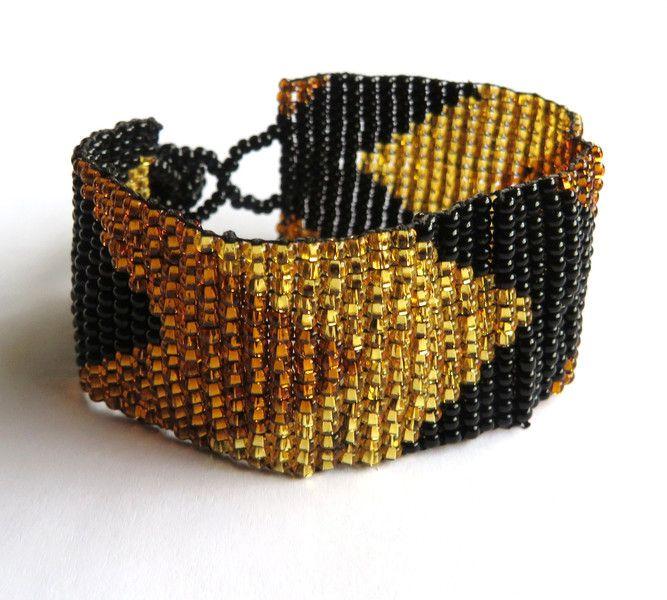 Armbänder - Glasperlen Armband*NAVAJO*Festival Maya Hippie  - ein Designerstück von santa-fee bei DaWanda
