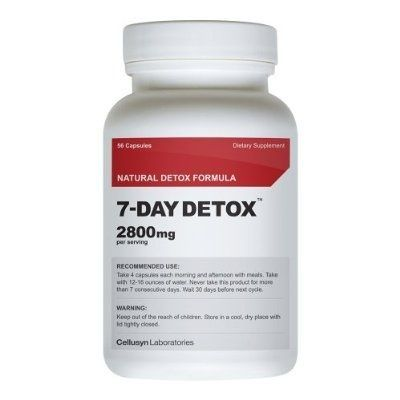 7 Day Detox  Best Supplement for Quick Weight Loss  All Natural Diet Pill  To