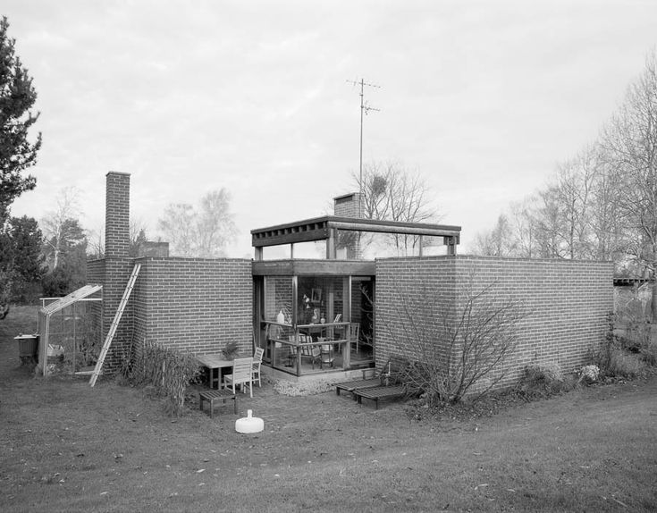 Sverre Fehn | Casa en  Norrkoping | Noruega | 1963