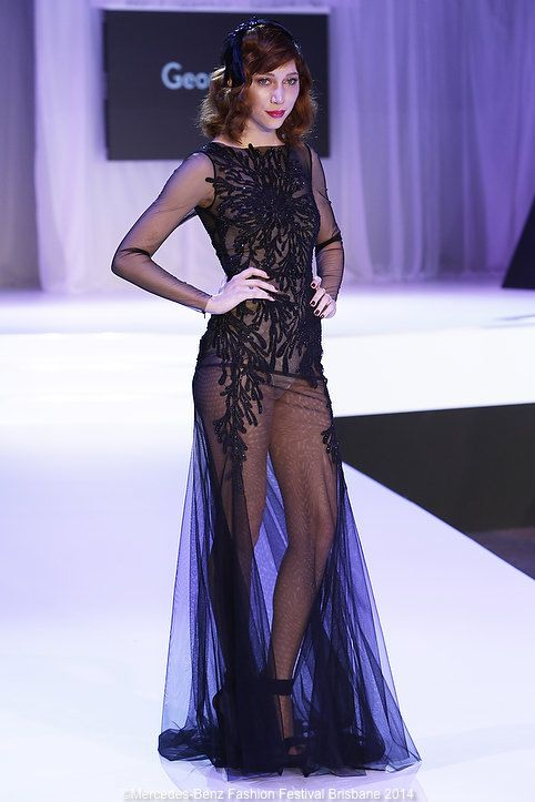 I could not get enough of George Wu's collections this season!
