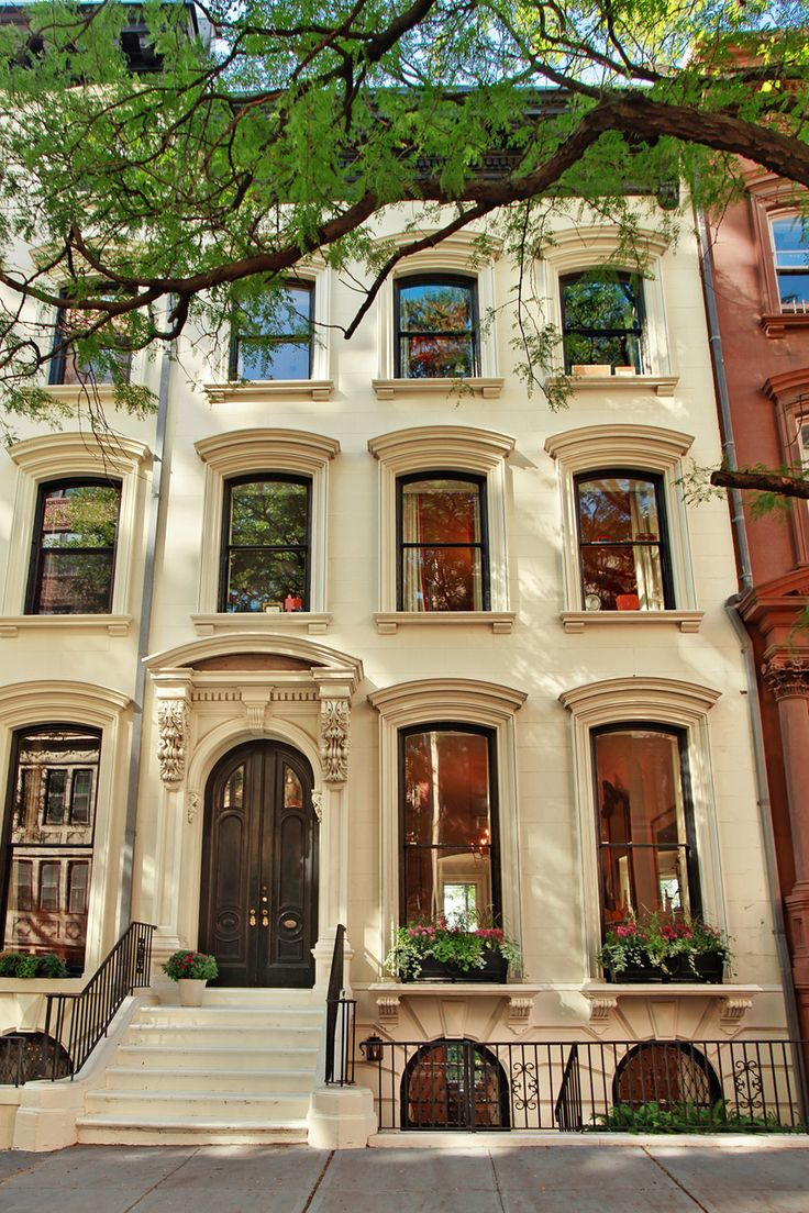Traditional brownstone in brooklyn heights with contemporary - 212 Columbia Heights Brooklyn Brooklyn Heights Harbor Views From Every Floor Of This Brooklyn