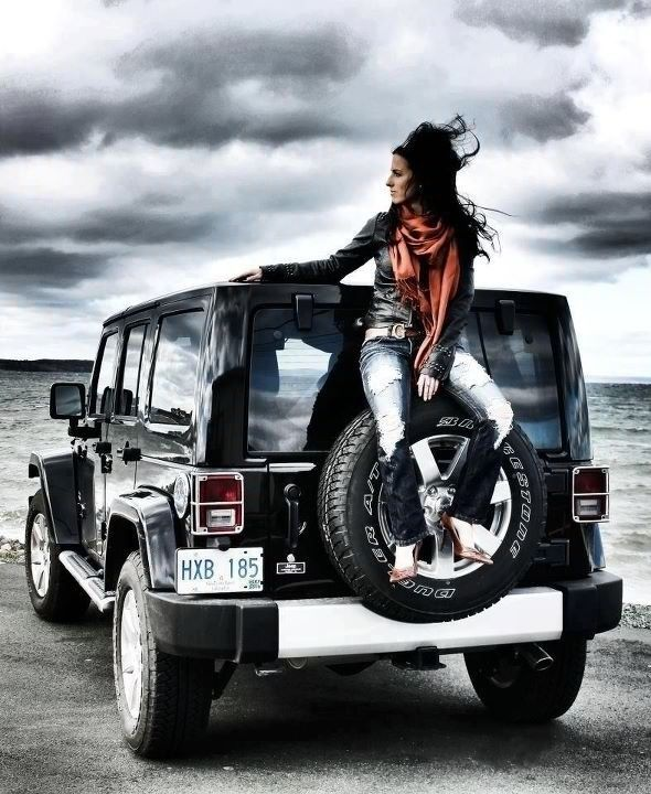 So, when I finally get my Jeep, getting my pictures professionally taken with it. No questions asked!