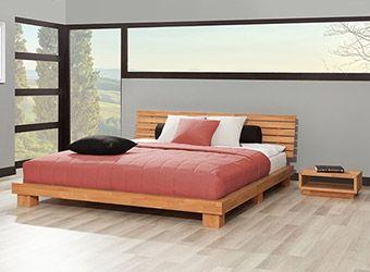 Łóżko bukowe RASTA