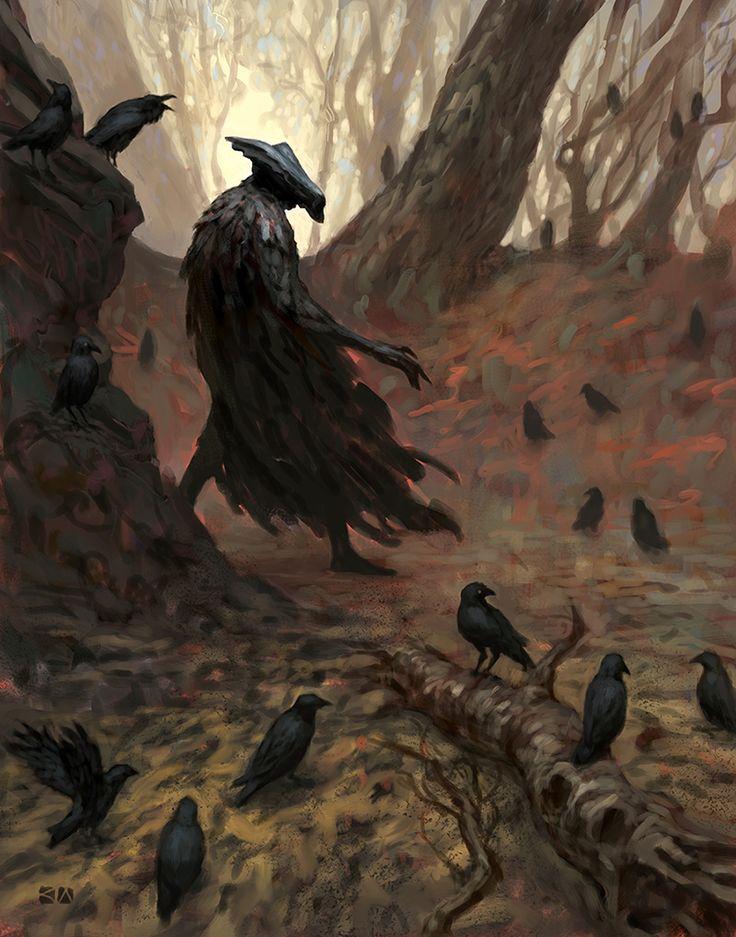 The Crow King by karlwennergren.deviantart.com on @deviantART: