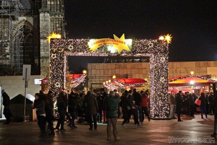 Ein Besuch auf dem Weihnachtsmarkt am Kölner Dom