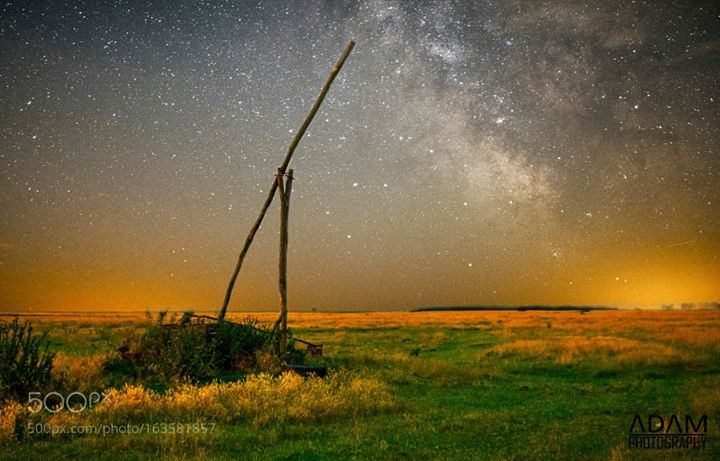 Well  This picture has been taken in June at the Hortobágy National Park in Hungary. A peaceful moment with an old well and the Milky Way. It shows the huge contrast between our life on Earth and our situation in the Universe.  Camera: NIKON D5300 Lens: 18.0-55.0 mm f/3.5-5.6 Focal Length: 34mm Shutter Speed: 1/250sec Aperture: f/4.5 ISO/Film: 400  Image credit: http://ift.tt/29ObLme Visit http://ift.tt/1qPHad3 and read how to see the #MilkyWay  #Galaxy #Stars #Nightscape #Astrophotography