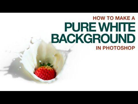 How to Make a Pure White or Pure Black Background in Photoshop – PictureCorrect