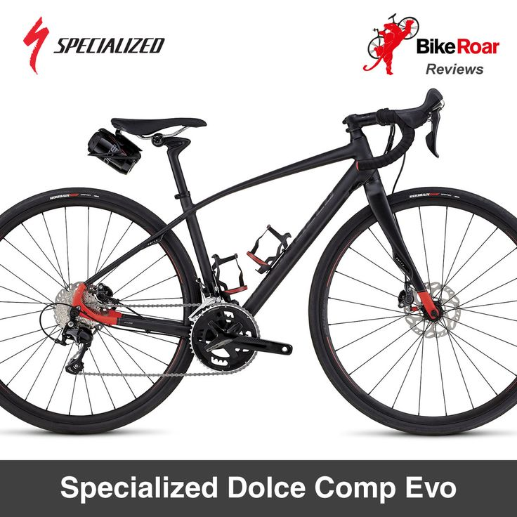 Mixed terrain bike specifically engineered for women...   LEARN MORE: http://www.bikeroar.com/products/specialized/dolce-comp-evo-2017/satin-met-black-rocket-red-reflective-silver-44cm.   #bike #review #iamspecialized #dolce #allroad #gravelgrinder #bicycle