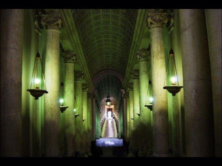 Inside the Vatican.
