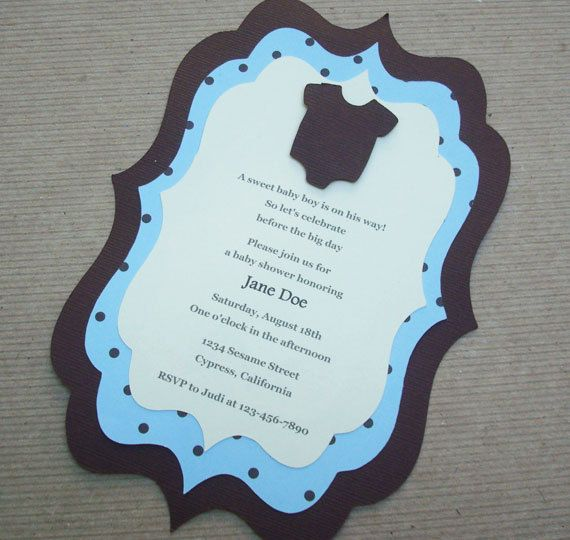 best baby invitation images on   cards, invitations, Baby shower invitation