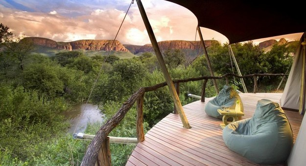 Luxurious Marataba lodge in South Africa