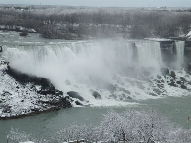 American Falls from the Sheraton on the Falls at Falls Avenue Resort