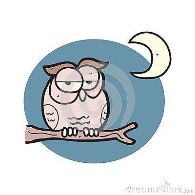 Illustration  about cartoon cutes owl