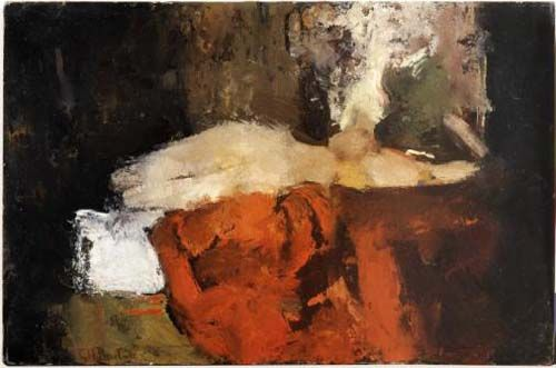 George Breitner, Young Lady in Black Stockings © Fondation Custodia, Frits Lugt Collection, Paris