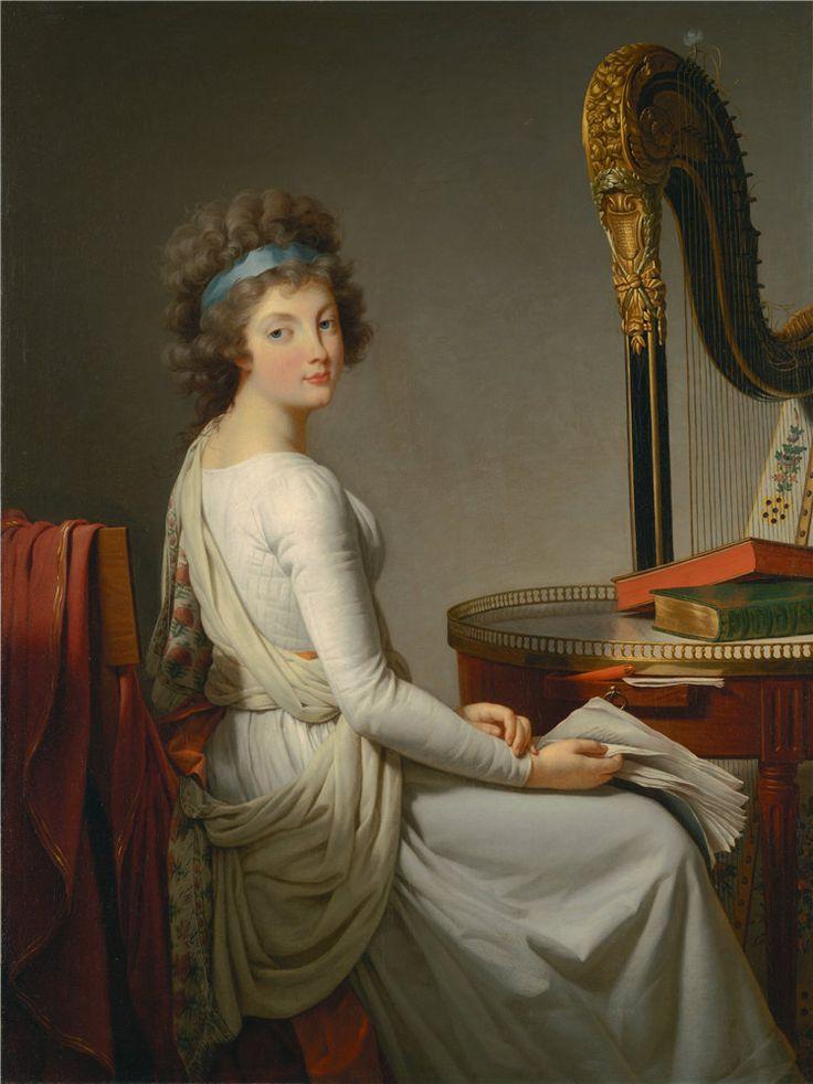 Portrait of Rose-Adélaïde Ducreux.