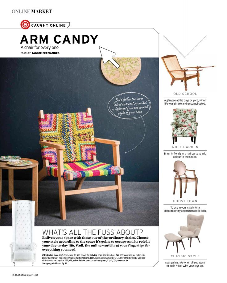 Bring in florals in small parts to add colour to the space! Thank you, GoodHomes for featuring our Dalhousie Armchair in Vintage Rose.