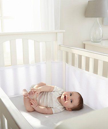 Love This White Mesh Crib Bumper On Zulily Zulilyfinds