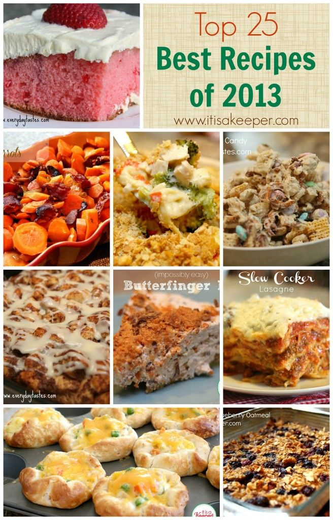 The Top 25 Best Recipes of 2013 (It's a Keeper)