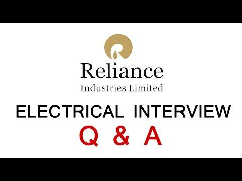 10 Electrical Interview Questions Answers in Reliance Industry Ltd - http://LIFEWAYSVILLAGE.COM/how-to-find-a-job/10-electrical-interview-questions-answers-in-reliance-industry-ltd/