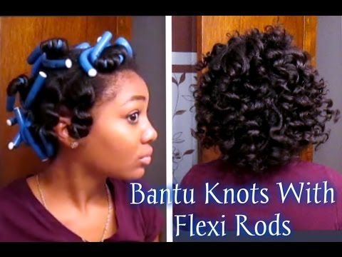Short Relaxed Hair Tutorial: How I style my Short Cut - YouTube