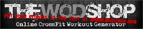 The WOD Shop - Generate random cross-training workouts online