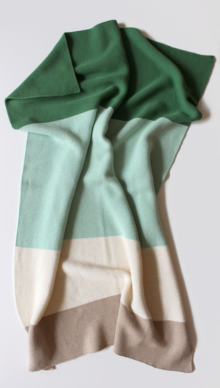 Cotton Baby Blanket - Leverett