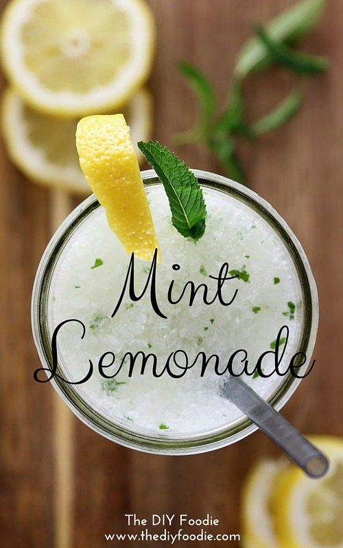 Mint Lemonade - so easy and so delicious for summer!!