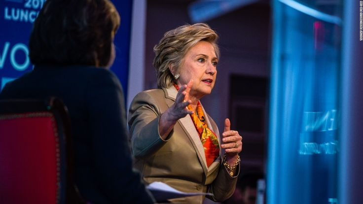 Hillary Clinton delivered her most forceful critique of President Donald Trump's 2016 victory on Tuesday, taking personal responsibility for her failed campaign but also pointed to the timing of a letter from FBI Director James Comey and Russian interference as factors.