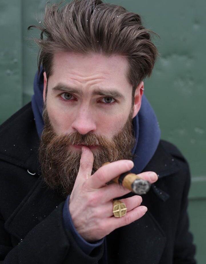 A Cigar Daddy Cigar Selfies Cigar 2 Cigars Bearded Men Cigar