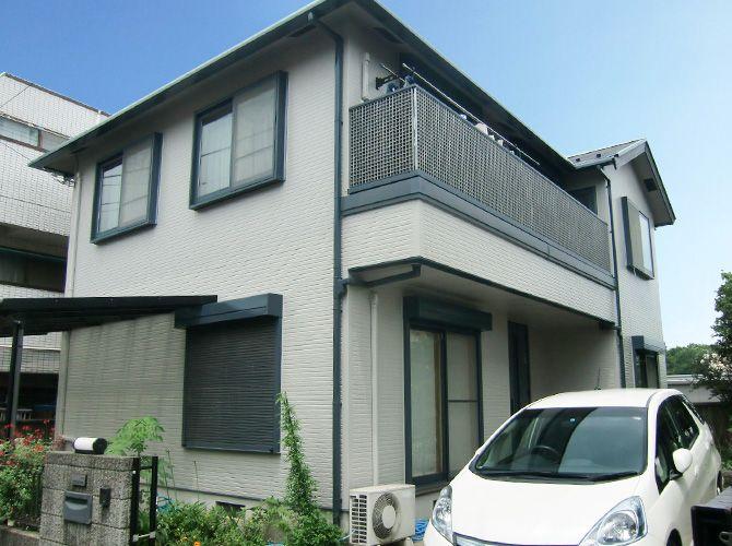 神奈川県相模原市の外壁塗装・屋根塗装工事の施工事例