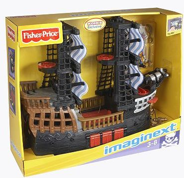 Kohl's: Fisher-Price Imaginext Pirate Ship Only $16.99 (Reg. $59.99!) - Raining Hot Coupons